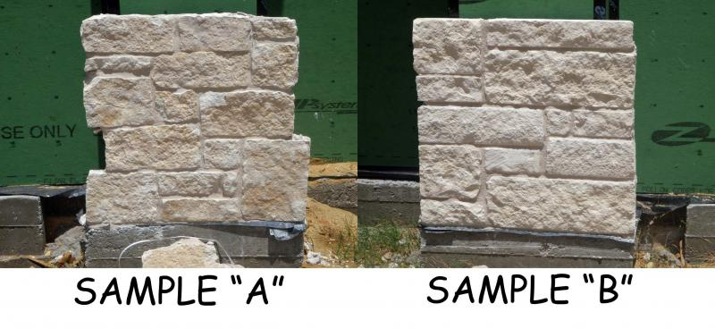 STONE SAMPLES JULY 20